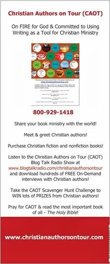 Even if you can't join Christian Authors on Tour (CAOT) in Harlem, NY on July 20th, your product, service, business and/or ministry can! Consider purchasing a color ad in Christian Authors on Tour's (CAOT) digital program booklet scheduled to go LIVE at www.christianauthorsontour.com on July 17th! Visit http://christianaotmarketplace.blogspot.com/ for more details!