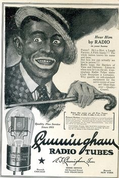 Cunningham Radio Tube Ad by montanaman1, via Flickr