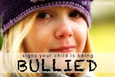 Warning signs your child is being bullied at school. Bullying at school. Ten signs on how to know if your kid is bullied and what to do. List of indicators. Parenting Teens, Parenting Advice, Bullying Quotes, Bullying Facts, Family Issues, Teen Issues, Teen Dating, Low Self Esteem, General Conference