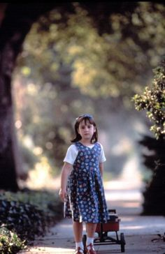 The books gave Matilda a comforting message, you are not alone.!♥