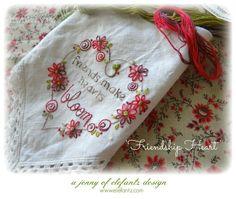(10) Name: 'Embroidery : My Shabby Heart stitchery - 2 ways