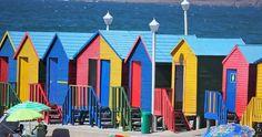 Colour houses St James Beach, Cape Town ,South Africa James Beach, Saint James, Cape Town, South Africa, Fair Grounds, Houses, Colour, Fun, Photography