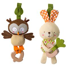 Buy Bright Starts Taggies Teethe And Take Forest Pal Online at johnlewis.com