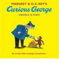 George, the man with the yellow hat and Mrs Needleman are at the train station to catch a train to the country. George becomes curious when he sees the stationmaster moving numbers and letters on a big sign and thinks he can be a big help. In the chaos that follows, a boy nearly falls on the train tracks chasing his toy engine.