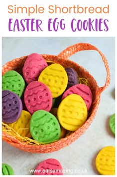 No Egg Cookie Recipe, No Egg Cookies, Cookie Recipes, Fun Food, Good Food, Food Art For Kids, Baking With Kids, Bento Box Lunch, Easter Treats