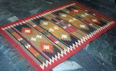 Authentic Vintage Afghan/Turkish Indian Area Floor Handmade Rug Persian Kilim #Silkgramexports