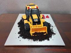 Backhoe Loader Cake