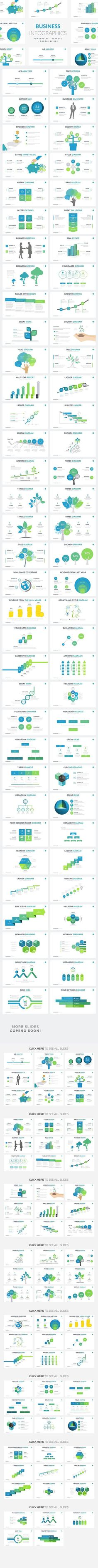 Business Infographics | PPT KEY GS. Presentation Templates
