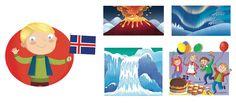 I'm Ready to Explore My World - Barbara Bongini #iceland #world #country #flag #culture #food #childrensbook #illustration #kidlitart #barbarabongini