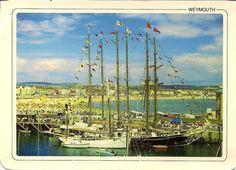 Weymouth Bay, Dorset - Unposted Postcard