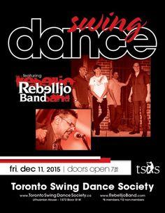 Toronto Swing Dance Society Dance Friday December 11th, 2015