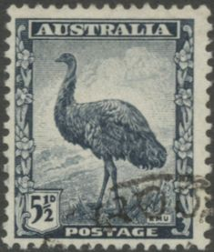 Picture of AUSTRALIA - CIRCA A stamp printed in Australia shows Emu, circa 1942 stock photo, images and stock photography. Old Stamps, Rare Stamps, Vintage Stamps, Australian Painting, Australian Birds, Stamp Values, Ayers Rock, Postage Stamp Art, Animals