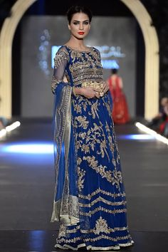 Zara Shahjahan at PFDC L'Oreal Paris Bridal Week 2013 Day 3