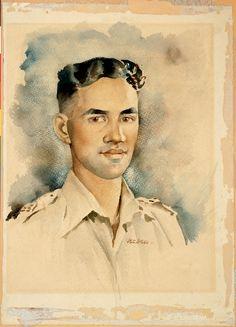 PETER MCINTYRE - Second Lieutenant Moananui-a-Kiwa Ngārimu, VC