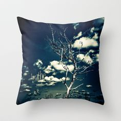 """""""BREATHE"""" Throw Pillow by Steffen Remter - Check out and love: http://society6.com/balticlapse +++ Follow me on G+: https://www.google.com/+RemterDE +++ #nature #photography #photo #manipulation #quotes #words #breathe #graphic #design #typography #tree #sky #clouds #blue #toned #contrasts #society6 #remter #balticlapse #art #print #pillow #tshirt #mug #mobile #case #iPhone #iPad @Society6"""