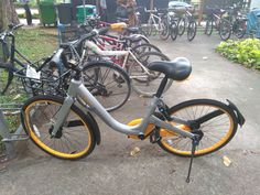 I just passed by Newton MRT station. Saw 1 obike here. It seems to have been sabotaged - the chain was lose.  How to compete against the capital market?  http://candlehub.asia/ipo/
