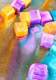 Erupting  Ice Chalk!!! #Family #Kids #Trusper #Tip