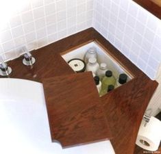 Wonderful Rv Bathroom Makeover Design Ideas 29