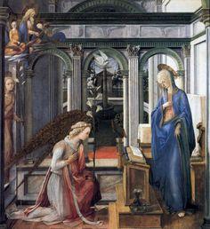 Lippi. L'Annonciation (v. 1443)