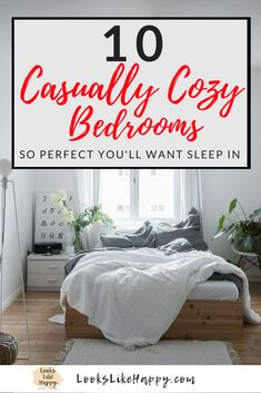 10 Casually Cozy Bed
