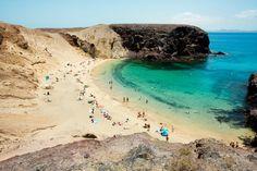 Quiet, peaceful spots - Papagayo Beach, Lanzarote