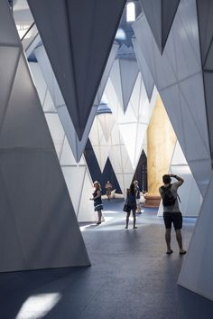 Gallery of James Corner Field Operations' ICEBERGS Brings the Chill to the National Building Museum - 14