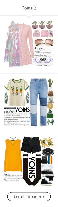 """Yoins 2"" by holy-k15 ❤ liked on Polyvore featuring Boohoo, Y.R.U., Farhi by Nicole Farhi, yoins, yoinscollection, loveyoins, Steve J & Yoni P, adidas, Sloane Stationery and Dorothy Perkins"