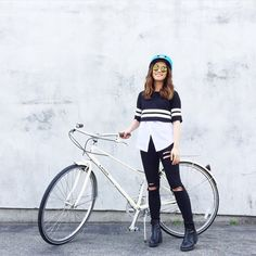 @imjennim kicks off #NationalBikeMonth with a brand new #linusbike Check out the refinery29 video https://www.youtube.com/watch?v=nsxzvJvT4xs&utm_content=buffer608b1&utm_medium=social&utm_source=pinterest.com&utm_campaign=buffer