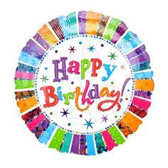 Ballon Mylar Happy Birthday