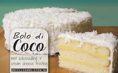 Bolo di Coco - In het midden van de zomer zijn er weinig dingen zo lekker als een goede kokostaart. Zelfs als je normaal niet van kokosnoot houdt, zul je je met deze lichte en zachte cake in de tropen wanen. Het ...