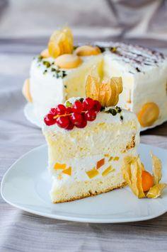 Romanian Desserts, Sweets Recipes, Coffee Cake, Vanilla Cake, Sweet Treats, Bakery, Cheesecake, Good Food, Rolls