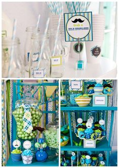 Mr. Man/Mustache Birthday Party Ideas | Photo 1 of 35 | Catch My Party