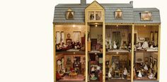 The New Rochelle Mystery House is one of the toys collected by museum co-founder Mary Harris Francis.
