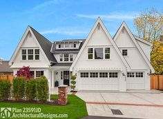 Eclectic Traditional House Plan - 23591JD | Northwest, Traditional, Photo Gallery, 2nd Floor Master Suite, Bonus Room, Butler Walk-in Pantry, CAD Available, Den-Office-Library-Study, Loft, PDF | Architectural Designs