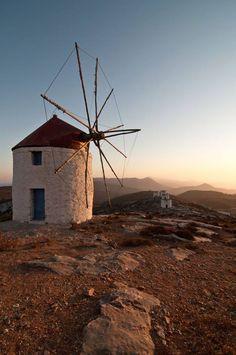 Mill in Amorgos