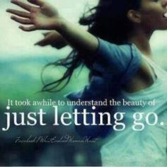 Just letting go..