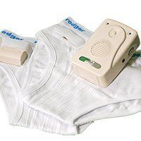 Rodger Wireless Bedwetting System with 8 Tones by Rodger. $134.95. Introducing the Rodger Wireless Alarm System a complete dry-solution to your childs bedwetting problem that is easy to use. Your child will find it easy to wear because the underwear fits just like normal underwear. But with a very special difference the invisible threads sewn into the underpants that connect to two press-studs near the waistband. At bedtime, your child attaches a small transmitter to the press-s...