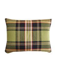 preppy plaid pillow $58