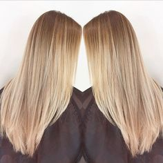 balayage highlights before and after blonde - Google Search