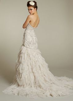Lazaro Style LZ3167 | I found this at @Nearly Newlywed bridal boutique #wedding