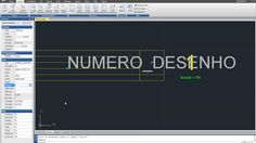 Como fazer um rótulo com atributos no DRAFTCAD, Software CAD compatível ...