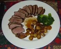How To Make Crispy Balsamic Duck Breasts