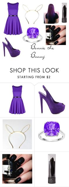 """""""Bonnie the Bunny --Five Nights At Freddy's 1--"""" by shadowknight101 ❤ liked on Polyvore featuring Schutz"""