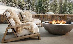 Chic Chalet, Mountain House Decor, Outdoor Living, Outdoor Decor, Outside Living, Exterior Design, Luxury Homes, Villa, Backyard