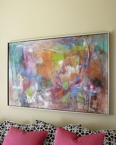 Seville Abstract Painting by John-Richard Collection at Neiman Marcus. I WANT!!