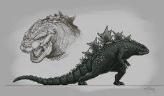 Godzilla 01 by KurtMAndersen.deviantart.com on @DeviantArt