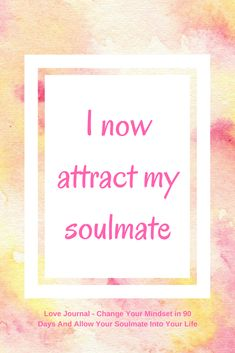 Daily love affirmation to help you improve your mindset and allow your soulmate into your life. Use the affirmation and see what it brings up for you, then work on eliminating any limiting beliefs. From the Love Journal: Improve Your Mindset in 90 D Affirmations Positives, Morning Affirmations, Love Affirmations, Career Affirmations, Louise Hay Affirmations, Mantra, Positive Thoughts, Positive Quotes, Positive Vibes