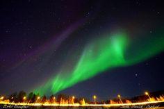 Auroras Taken by B.Art Braafhart on April 6, 2014 @ Salla, Finnish-Lapland
