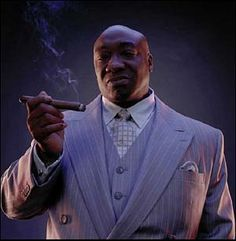 The Kingpin from Daredevil played by Michael Clark Duncan. I thought he was great in this role.