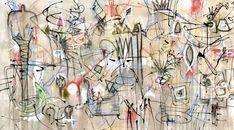 Bruce Rubenstein - Wine Anytime #artwork #painting #originalart #buyart #horizontal